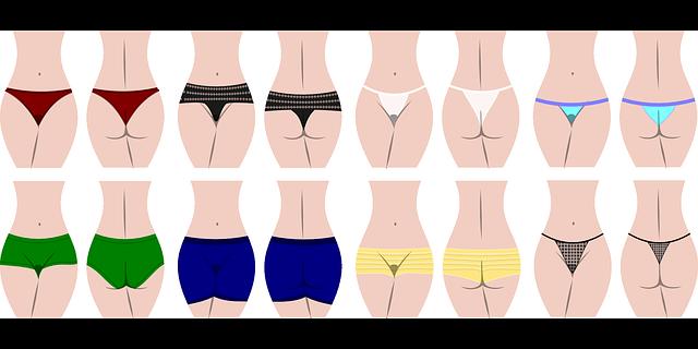 dámské kalhotky