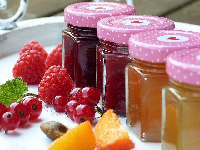 ovocné džemy